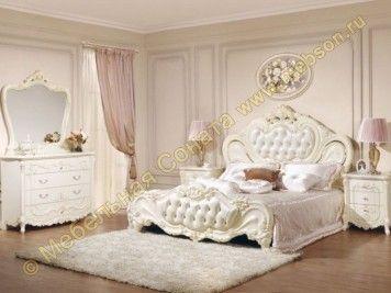 Спальня Элиза, цвет бежевый