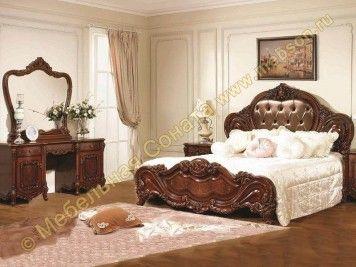 Спальня Элиза, цвет орех