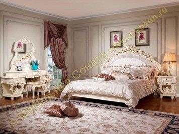 Спальня Офелия, цвет бежевый