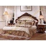 Кровать Офелия, цвет орех