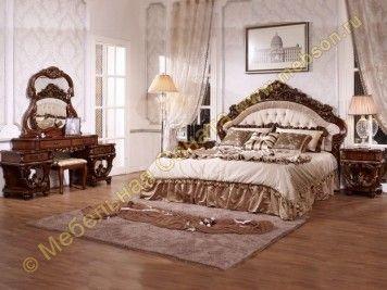 Спальня Офелия, цвет орех