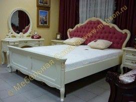 Комплект спальни Изабель с кроватью 140 * 200