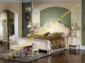 Кровать Изабель, изголовье экокожа