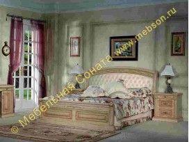 Комплект спальни Марсель с кроватью 180 * 200