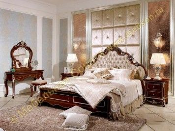 Спальня Провен, цвет орех