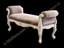 Банкетка Carpenter 230 ivory