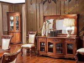 Буфет с зеркалом Carpenter 230 walnut