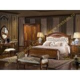 Кровать А2 Carpenter 230 walnut (обивка ткань)